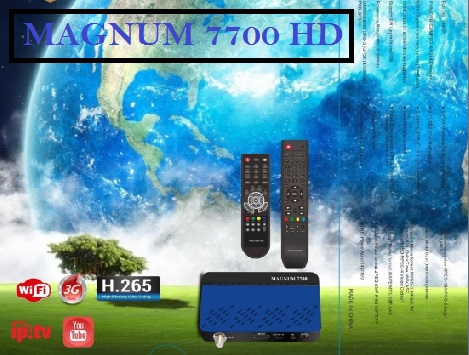 Magnum 7700 HD Receiver Latest Software With Add IP Audio