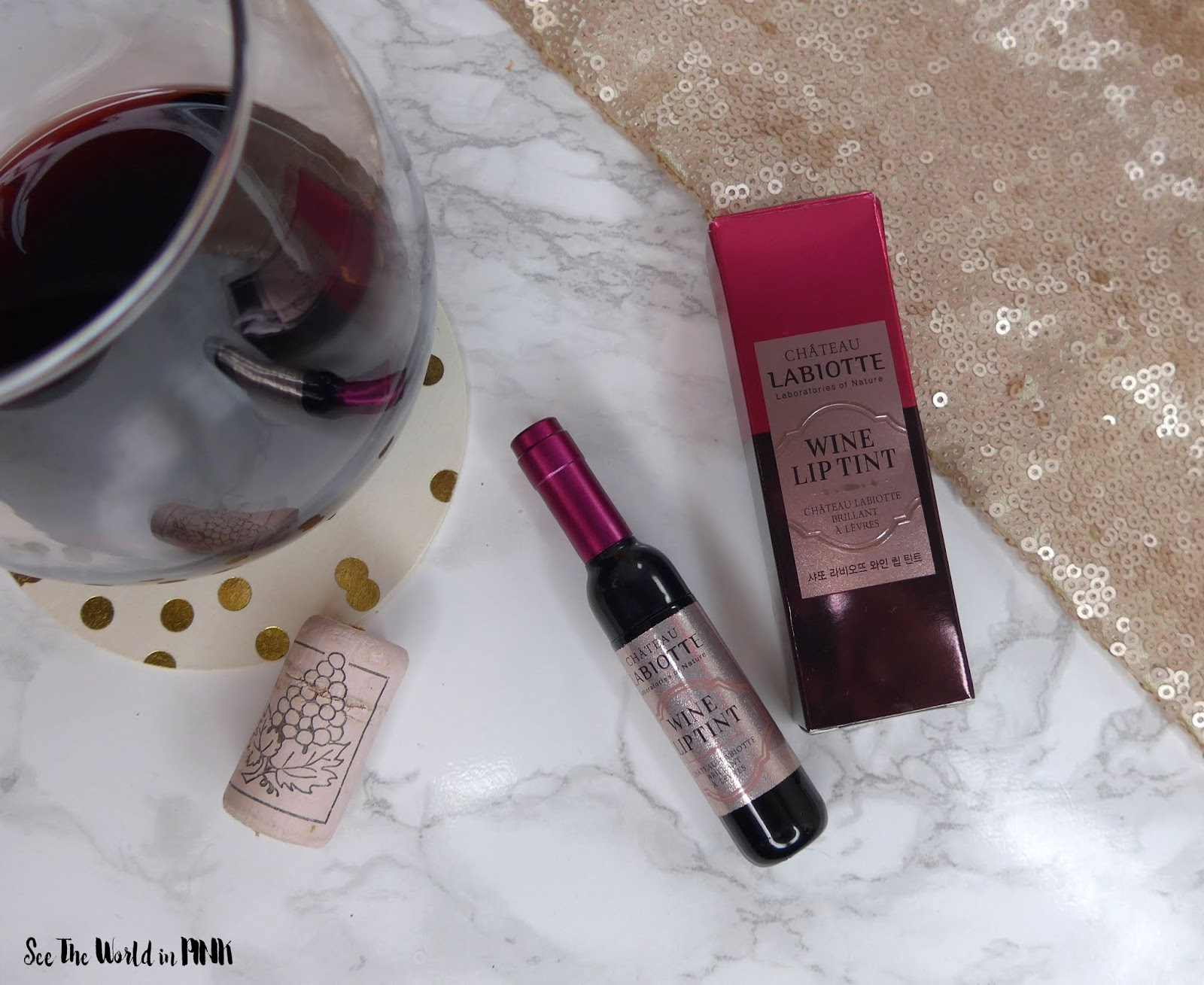 "Labiotte Chateau - Wine Lip Tint in ""Nebbiolo Red"""
