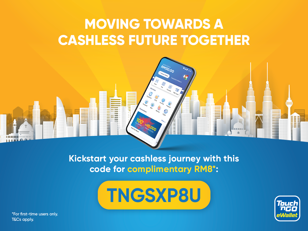 New Touch N Go Ewallet Users Get Complimentary Rm8 Promo Codes My