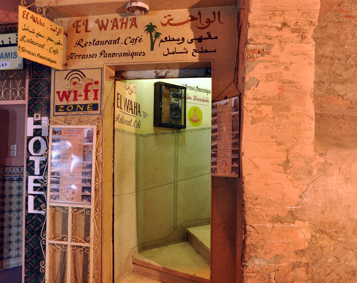 El Bar De Marras El Waha Marrakech Marruecos