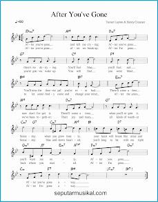 chord after you've gone lagu jazz standar