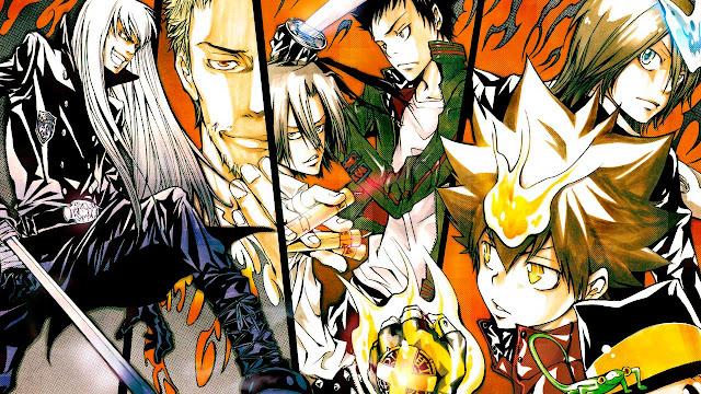 En que manga continua el anime Katekyo Hitman Reborn!