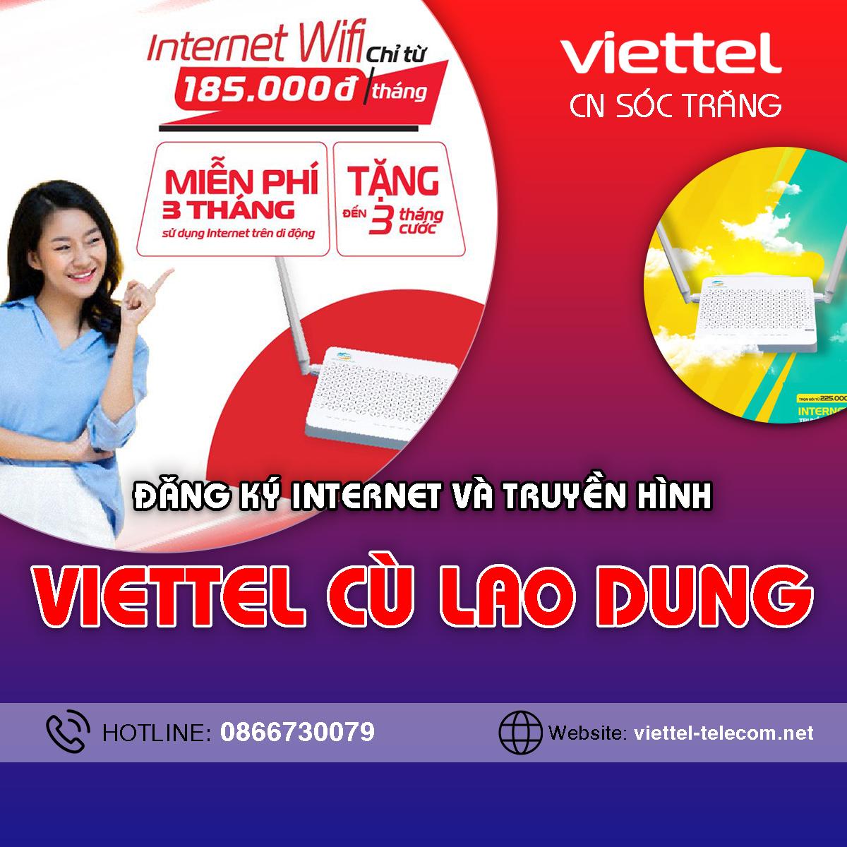 Cửa hàng Viettel Cù Lao Dung - Điện thoại 0866191900