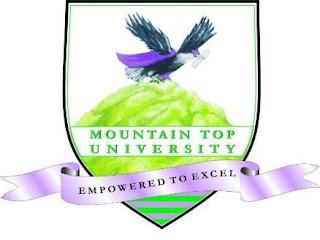 Mountain Top University Post UTME Form 2018