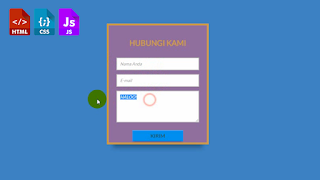 Tutorial Cara Membuat Form Animasi dengan HTML CSS Javascript