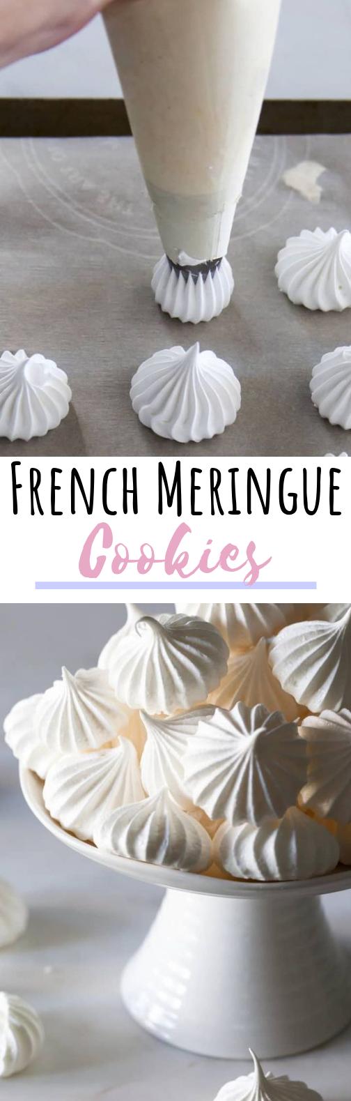 French Meringue #cookies #desserts