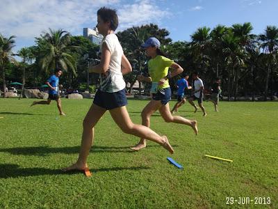 workshop วิ่งเท้าเปล่า โดย โยชิโนะซัง