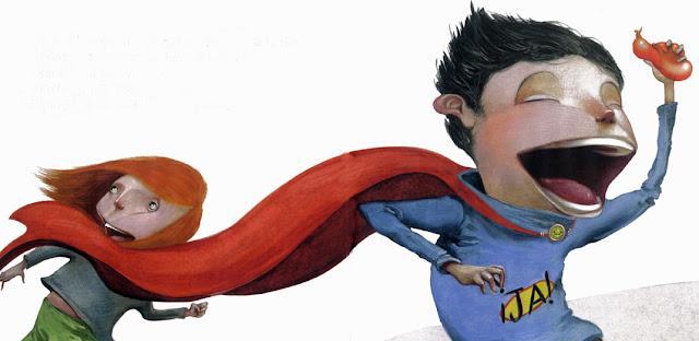 cuento de superhéroes para niños