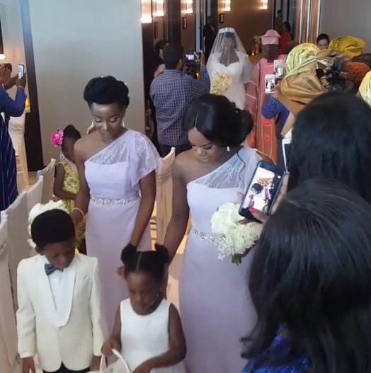 View of Tolu AKA Toolz & Tunde Demuren marriage pictures,6