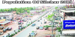 What is the population of Silchar.