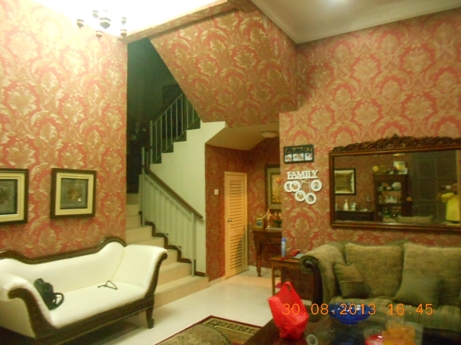 repair sofa shah alam single corner rumah 3 tingkat dengan wallpaper mewah baiti jannati deco