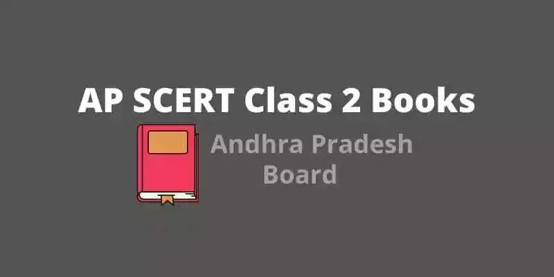 AP SCERT Class 2  Books   AP Board Class 2 books PDF Download