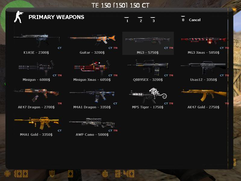 All Here: The Hidden Weapon For Counter Strike Extreme V5