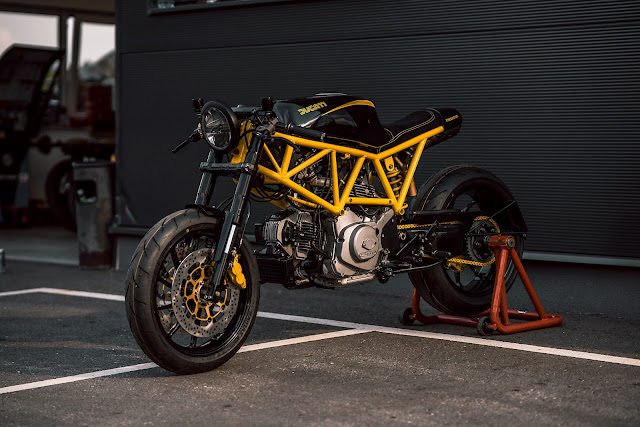 Ducati 750SS By NCT Motorcycles Hell Kustom