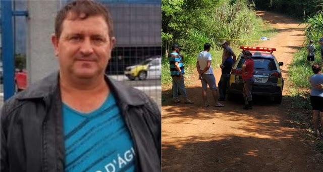 Rio Bonito do Iguaçu: Polícia Civil confirma prisão de homem envolvido na morte de Enio Pasqualin