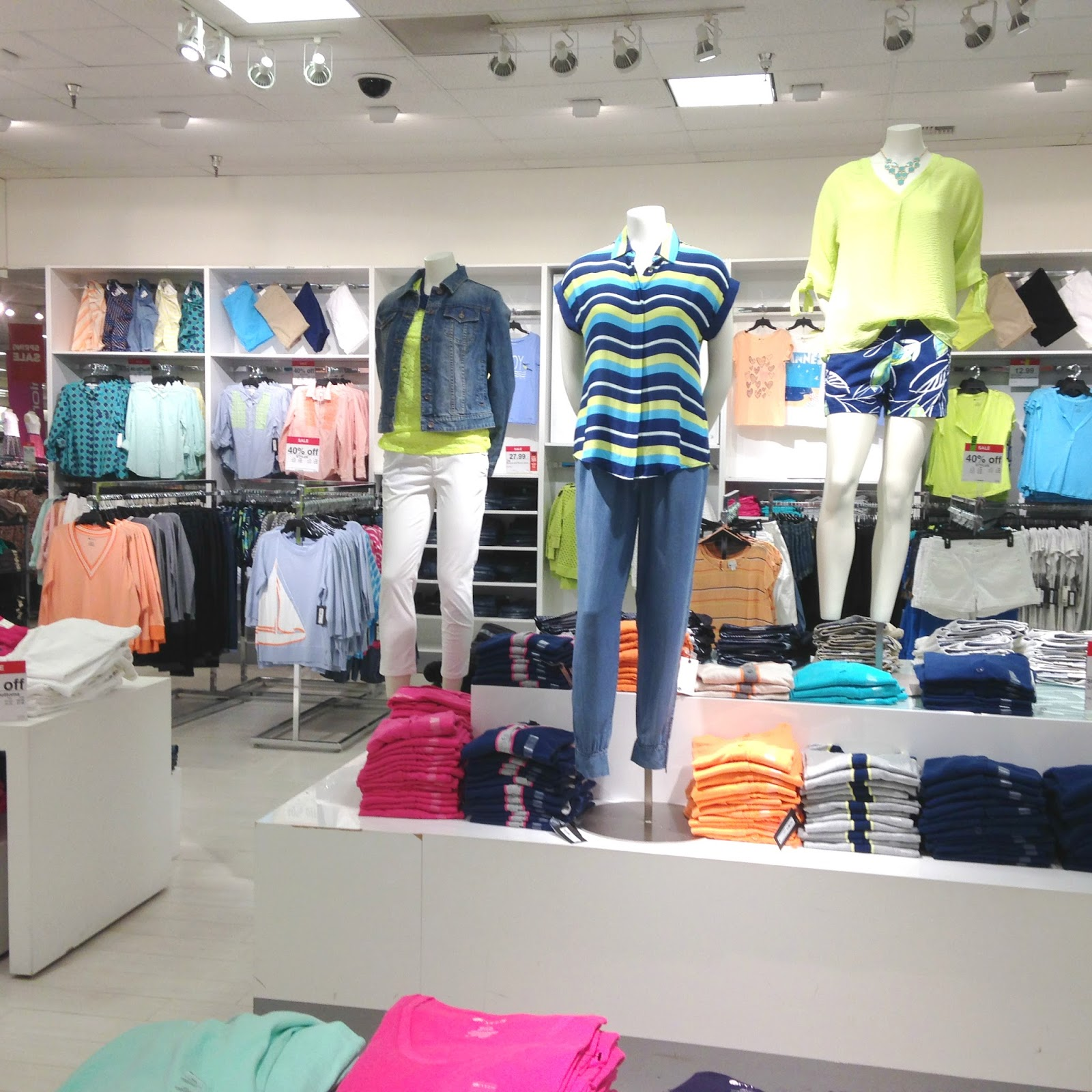Tracy's Notebook Of Style: JCPenney In Store Pics Of New