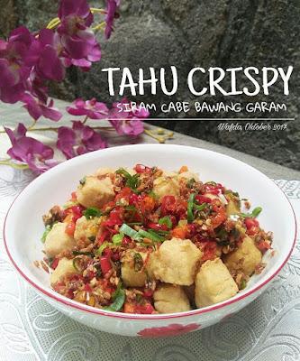 Resep Tahu Crispy Cabe Bawang Garam By @dapurwafda