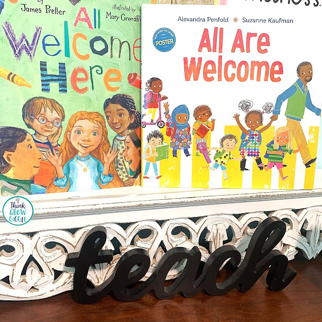 All Welcome Here Book Activities