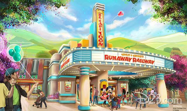 D23 Expo 2019 Disney Parks, Mickey & Minnie's Runaway Railway