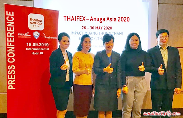 THAIFEX Anuga ASIA 2020, Thaifex , World of Food Asia, Thaifex Anuga Asia 2020 Press Conference Kuala Lumpur, Department of International Trade Promotion, Ministry of Commerce, Malaysia, Food, Bangkok Expo, Thaifex 2020 Bangkok