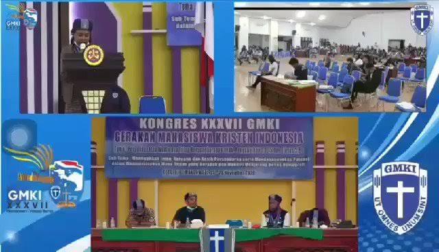 Heboh Video Kongres Mahasiswa Kristen GMKI, Ada Teriakan Papua Merdeka!