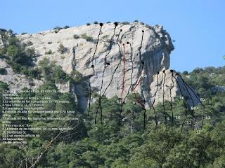 Desfiladero de la Horadada, Oña, Trespaderne, escalada