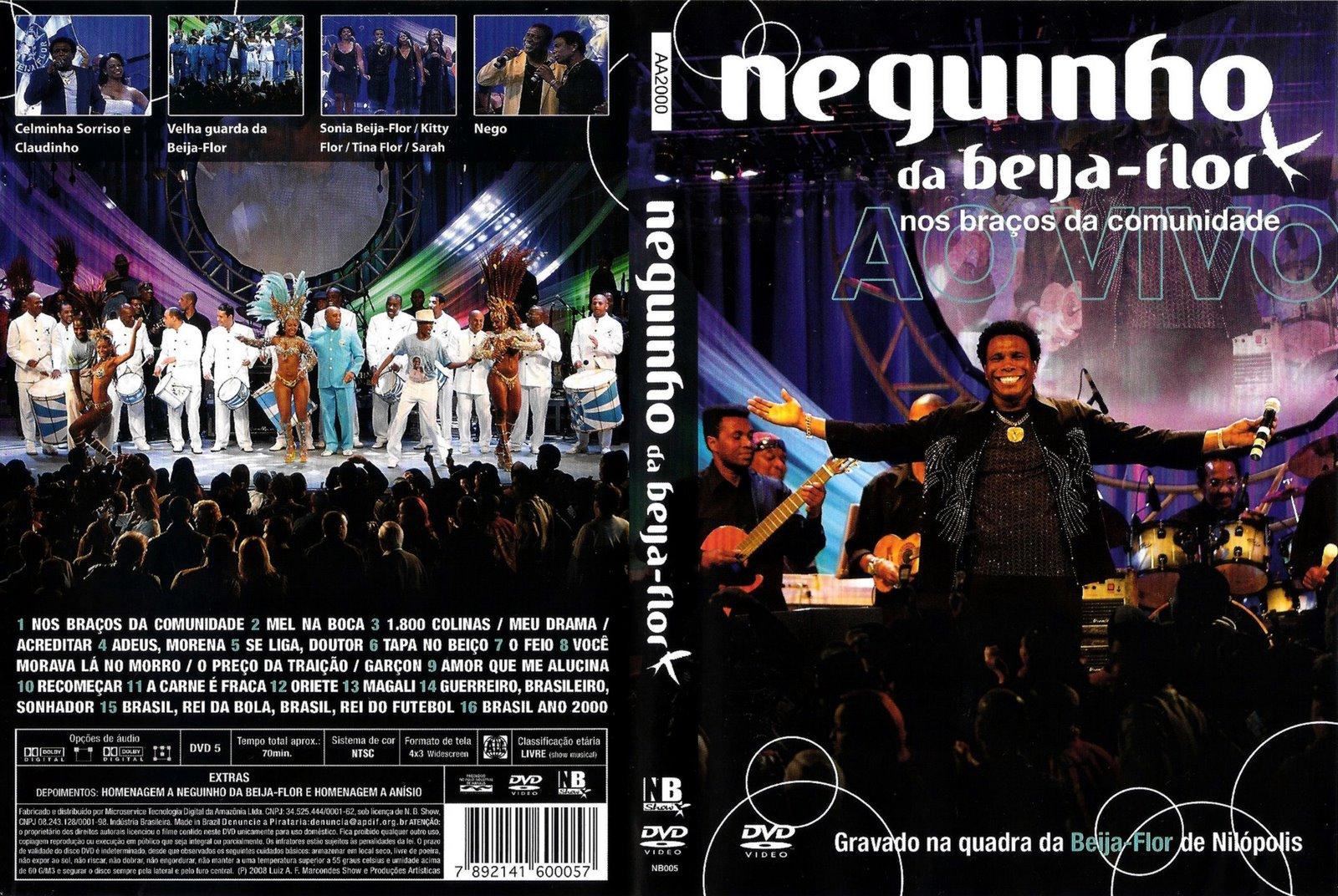 DVD Neguinho Da Beija Flor – Nos Braços Da Comunidade (2011)