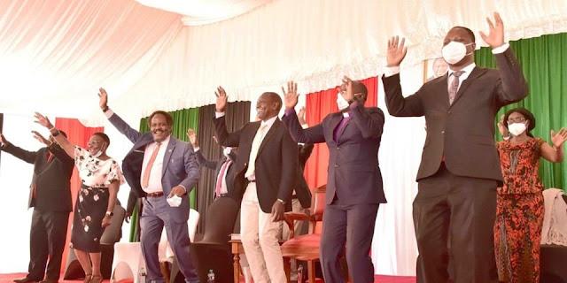 DP William Ruto meets Meru Mps and Pastors