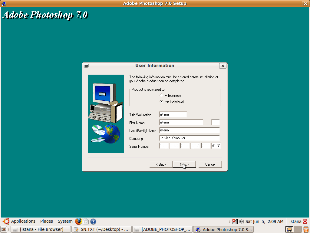 adobe acrobat 7 activation