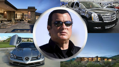 Kunzang Seagal's father property collection