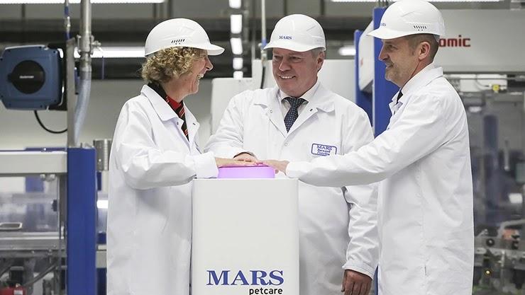 Открытие завода фирмы Mars