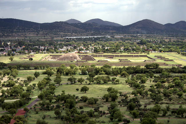 The Precolombian Pyramids Of Teotihuacan