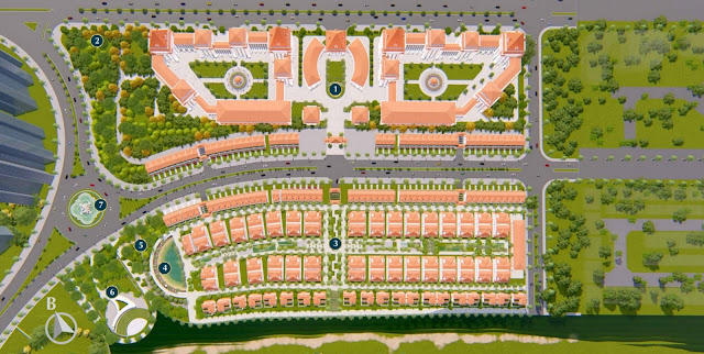 Giá bán thiết kế biệt thự dự án Sunshine Wonder Villas khu đô thị Ciputra Hà Nội