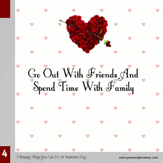 5 important things to do on Valentine's day