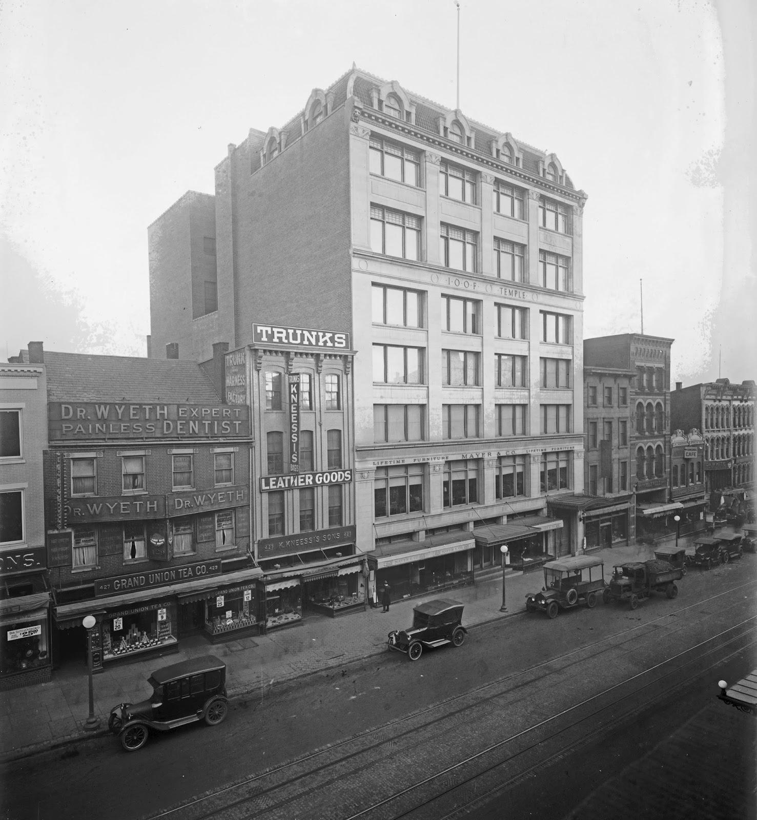 Washington 1917 d.c. Photo:post Office Building
