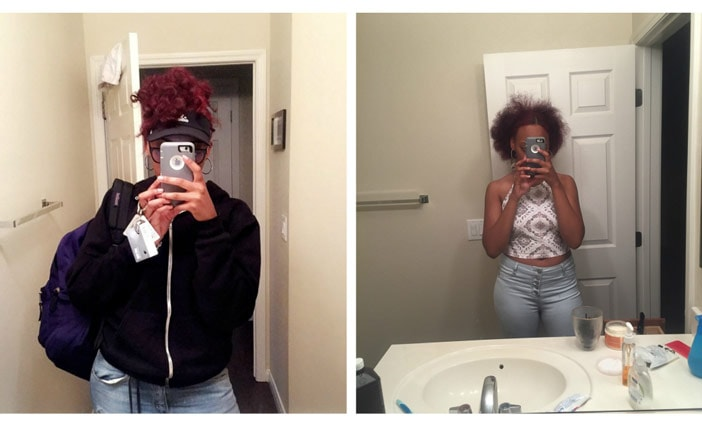 Red Natural Hair Journey