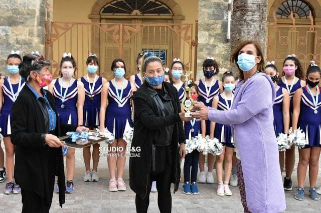 Οι cheerleaders της Χοροκίνησης έφεραν το χρυσό στο Ναύπλιο