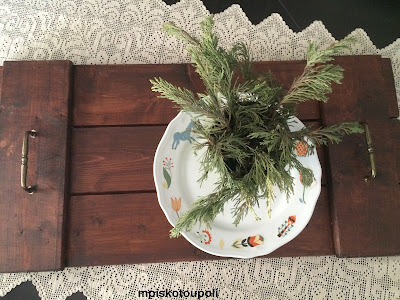a rustic tray 2