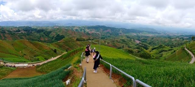 Terasering Lembah Panyaweuyan, Wisata Murah Manfaat Luar Biasa