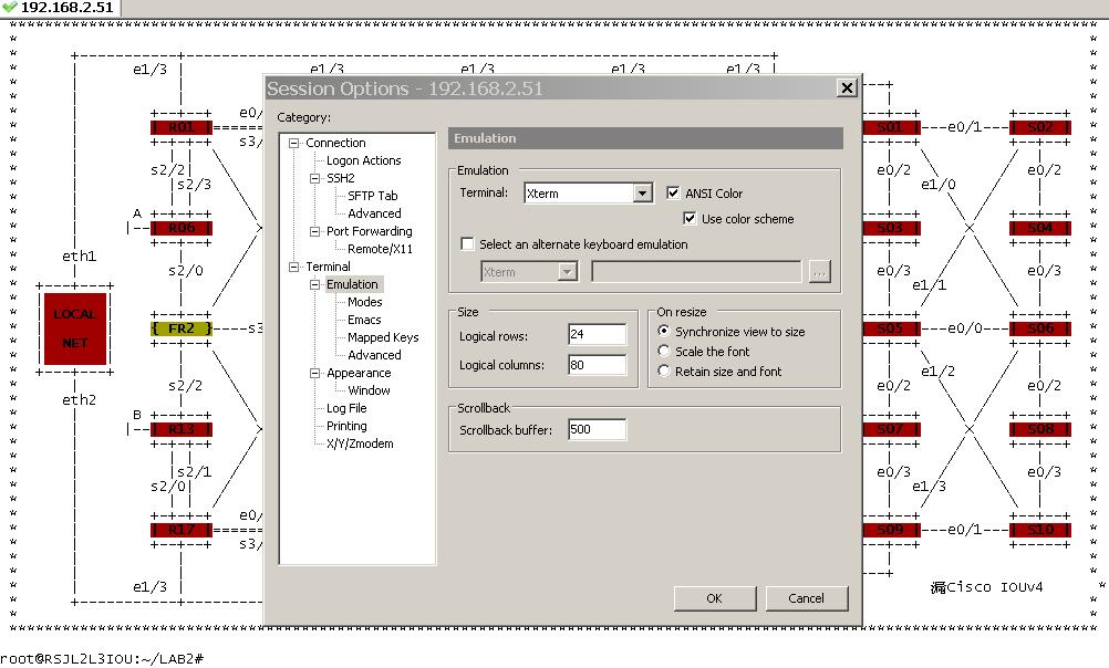 Cisco L2 L3 IOU Rack V5 (newer version from Cisco L2 L3 IOU Rack V3