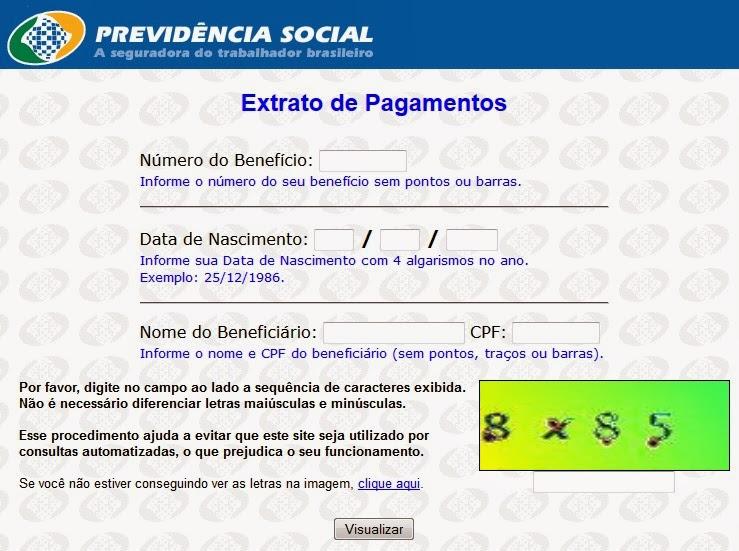 extrato inss beneficio previdencia social mensal e anual