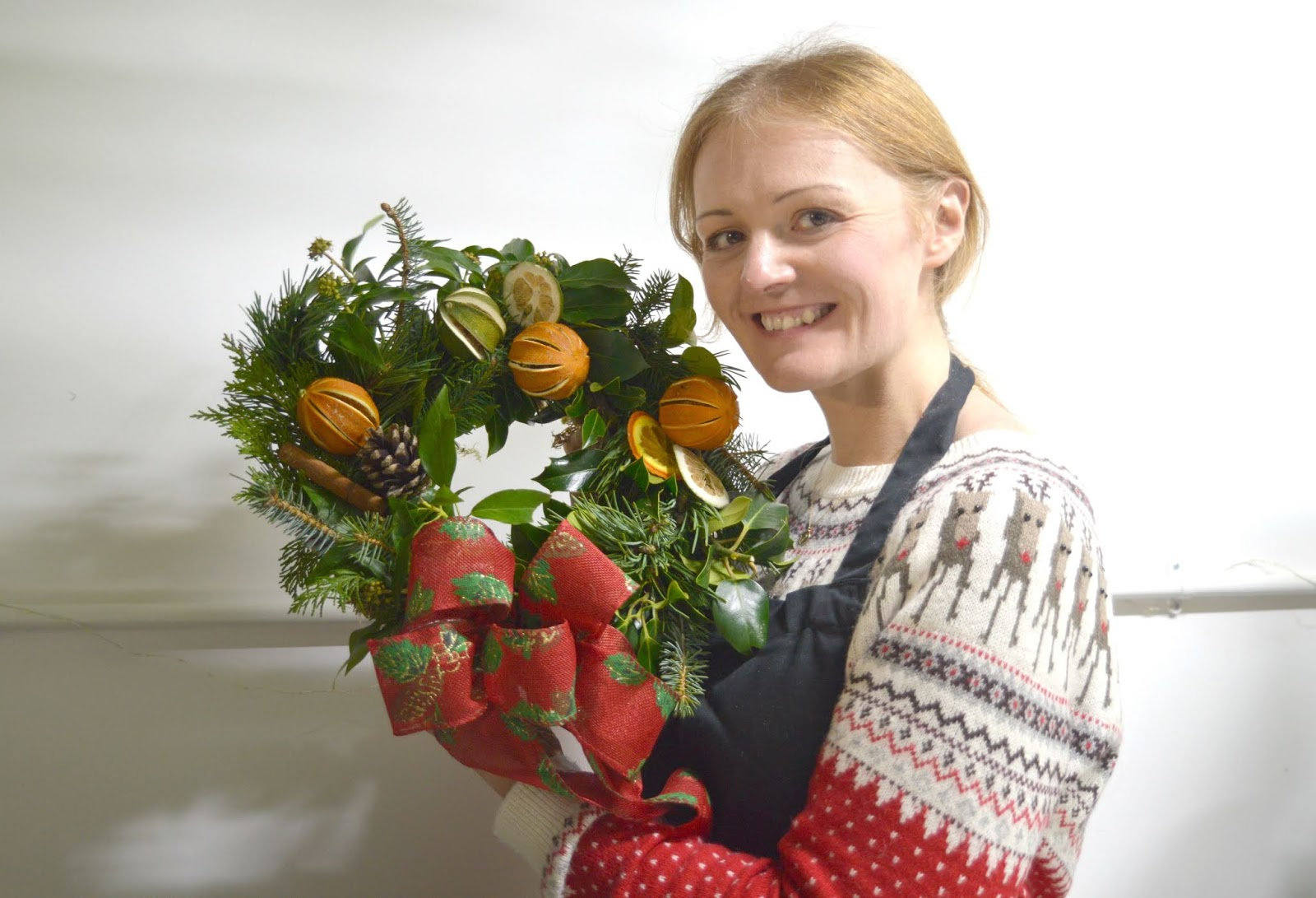 Christmas Wreath Making Workshop - House of Botanics Newcastle