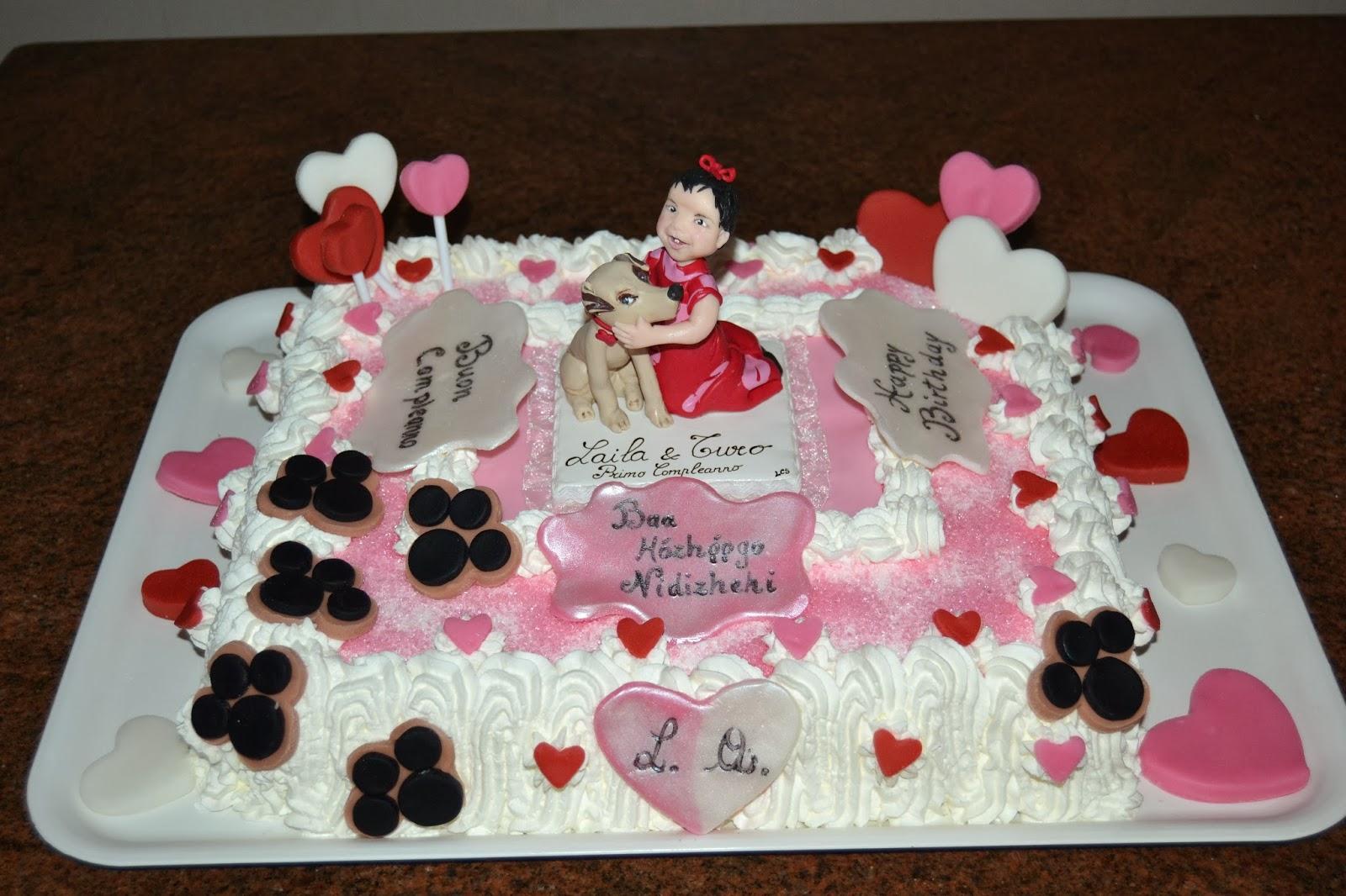 Torta Minnie Decorata Con Panna