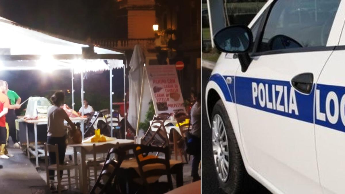 Controlli anti Covid centros torico Polizia Municipale Polizia Locale