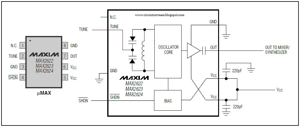 full power mobile phone jammer circuit diagram