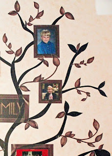 DIY Family Tree Mural step 4