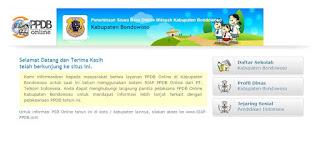 Situs Resmi PPDB Jatim Bondowoso