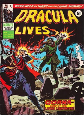 Marvel UK, Dracula Lives #46