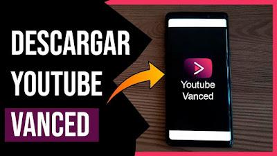 "YouTube Vanced  Final No Root + Black Theme ""Sin Publicidad"""