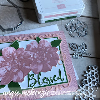 A Wild Rose for Kylie's International Blog Highlights - July 2019 | SUPPLIES - To A Wild Rose bundle by Stampin' Up!® | Nature's INKspirations by Angie McKenzie